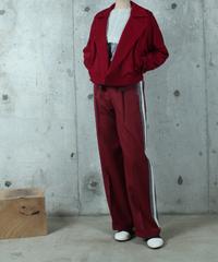 red dolman jacket