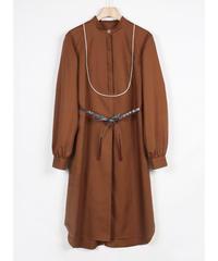 op-24B  brown shirts dress