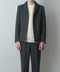 dobby wool jacket