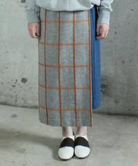 sk-10C   check skirt