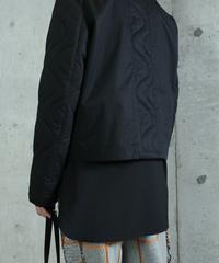 jk-43B   black zip jacket