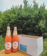 ひなた農園 ニンジンジュース 720ml 2本入り 送料別:農薬・化学肥料不使用 ニンジンのみ使用