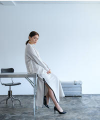 Uptown Sweat Slider Skirt(Oyster White/Mauve/Sumi Black)