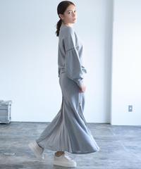 High Dence Sweat 4sliders Skirt(Camel/Gray/Black)