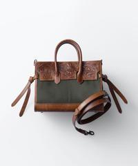 Carving&Canvas Boston Bag Mini [19Z003]
