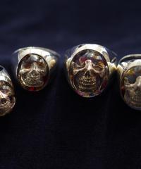 Flower Skull Ring(M)