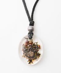 Flower Skull Necklace(三浦大知さん着用)