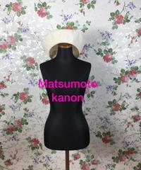 Matsumoto kanon 2枚 はぎベレー帽  2019/08