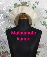 Matsumoto kanon   2枚はぎのベレー帽 2019/07