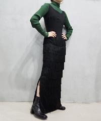 Fringe Design Sleeveless Dress