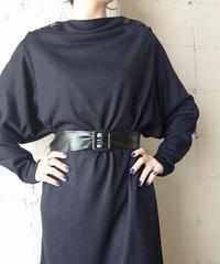 Dolman Sleeve Desigh Dress BK