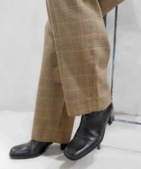 Glencheck Tuck Pants BR