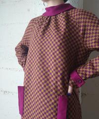 Block Check Retro Dress BURCM