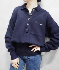 Front Pocket Shirt Knit NV