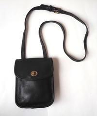 COACH Front Cover Shoulder Bag BK
