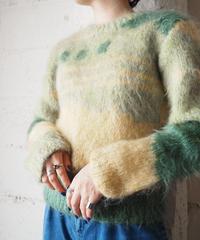Vintage Mohair Pattern Sweater YEGN