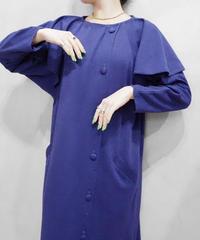Layerd Sleeve Design Dress PUR
