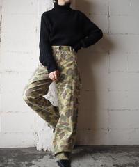 1970's Vintage Camouflage Pants KA