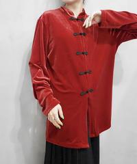 Velour China Jacket RE