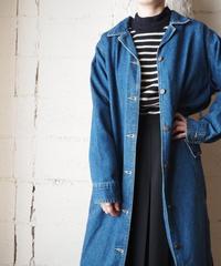 Belted Denim Coat BL