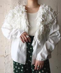 Fringe Design Jacket WH