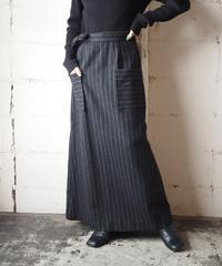 Stripe Flared Skirt GRWH
