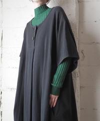 Front Bottom Short Sleeve Dress BK