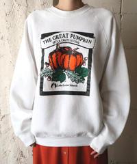 ''THE GREAT PUMPKIN'' Print Sweat WH