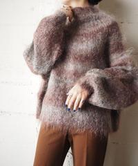 Gradation Mohair Sweater GRBUR