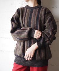 Stripe Design Sweater BR