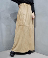 Fake Suede Easy Skirt BE