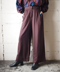 Wide Tuck Pants BR