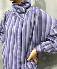 Design Stripe Blouse PUR