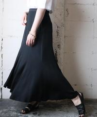 Mermaid Line Long Skirt BK