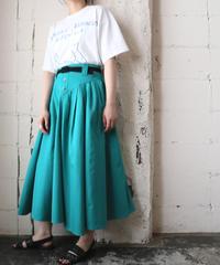 Tuck Flared Skirt GN
