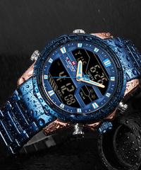 【全5色】 NAVIFORCE高級ブランド男性腕時計ファッションスポーツ腕時計メンズ防水クォーツ時計