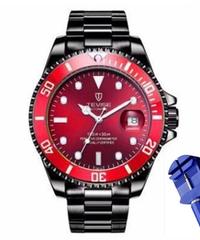 【全20色】 2019 TEVISEトップブランドのメンズ機械式時計自動ファッション高級ステンレス鋼男性時計レロジオ ③