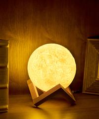 ムーンライトusb ledナイトライトクリエイティブテーブル月ランプ