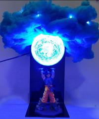 ドラゴンボールZ孫悟空元気玉スピリット爆弾クラウドDIY LEDナイトライトLEDテーブルランプ