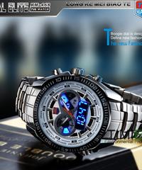 TVG新しいファッションメンズスポーツクロックファッションブルーバイナリLEDポインターウォッチ男性ダイビングウォッチ防水デジタル時計