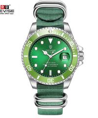 【全20色】 2019 TEVISEトップブランドのメンズ機械式時計自動ファッション高級ステンレス鋼男性時計レロジオ ④