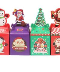 クリスマス2019 ラッピング材 ラッピングボックス20セット キャンディボックス ギフトボックス 紙材