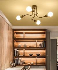 現代のled天井シャンデリア照明リビングルームの寝室のシャンデリア 4ヘッドタイプ