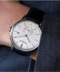 【全4色】 Parnis機械式腕時計水中ミニマリストウォッチメンズ腕時計
