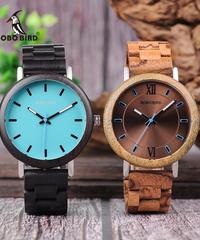 BOBO BIRD 木製時計メンズレディース腕時計クォーツアナログ腕時計