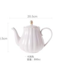 コーヒーカップ磁器食器セットヨーロピアンセラミックシンプルアフタヌーンティーセットギフトボックスアメリカンティーマグ 1ポット単品