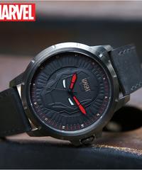 ディズニー公式 マーベルシリーズ腕時計 海外限定版 アベンジャーズアイアンマンクォーツ防水時計