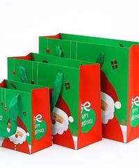 [全3サイズ]クリスマス2019 ギフトバッグ ミニ mini 15*15*8.2cm プレゼントバッグ デコレーション
