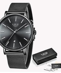 【全7色】 2019 LIGEファッションクォーツ時計女性腕時計モントレファムレロジオフェミニノ