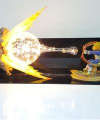 ドラゴンボールベジータランプファイナルフラッシュledライトランプテーブルランプナイトライト